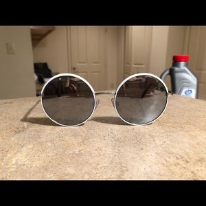 Circle Mirrored Sunglasses